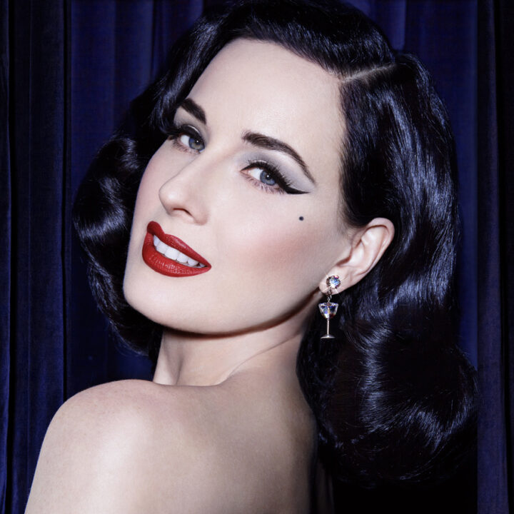 Dita Von Teese image shot by Albert Sanchez from Chloe Walsh at The Oriel for use by 360 Magazine