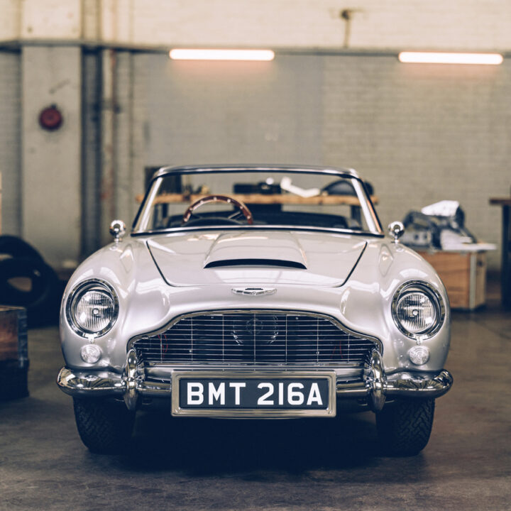 Aston Martin image from Ben Lewis at Influence Associates for use by 360 Magazine