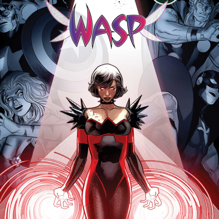 Darkhold Wasp Cover Artwork from Anthony Blackwood, Marvel Entertainment for use by 360 Magazine