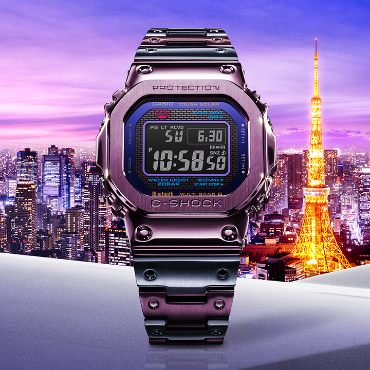 GMWB5000PB-6 image by Casio for use by 360 Magazine
