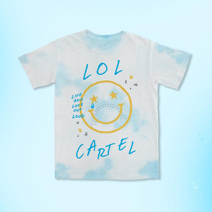 happy tee product image by lol cartel for ue by 360 magazine
