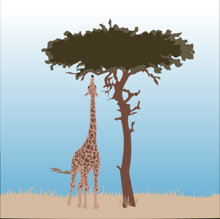 Africa illustration by Heather Skovlund from 360 Magazine for use by 360 Magazine