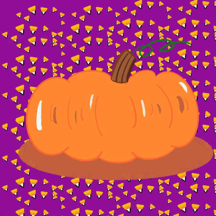 Pumpkin illustration by Nicole Salazar at 360 Magazine for use by 360 Magazine
