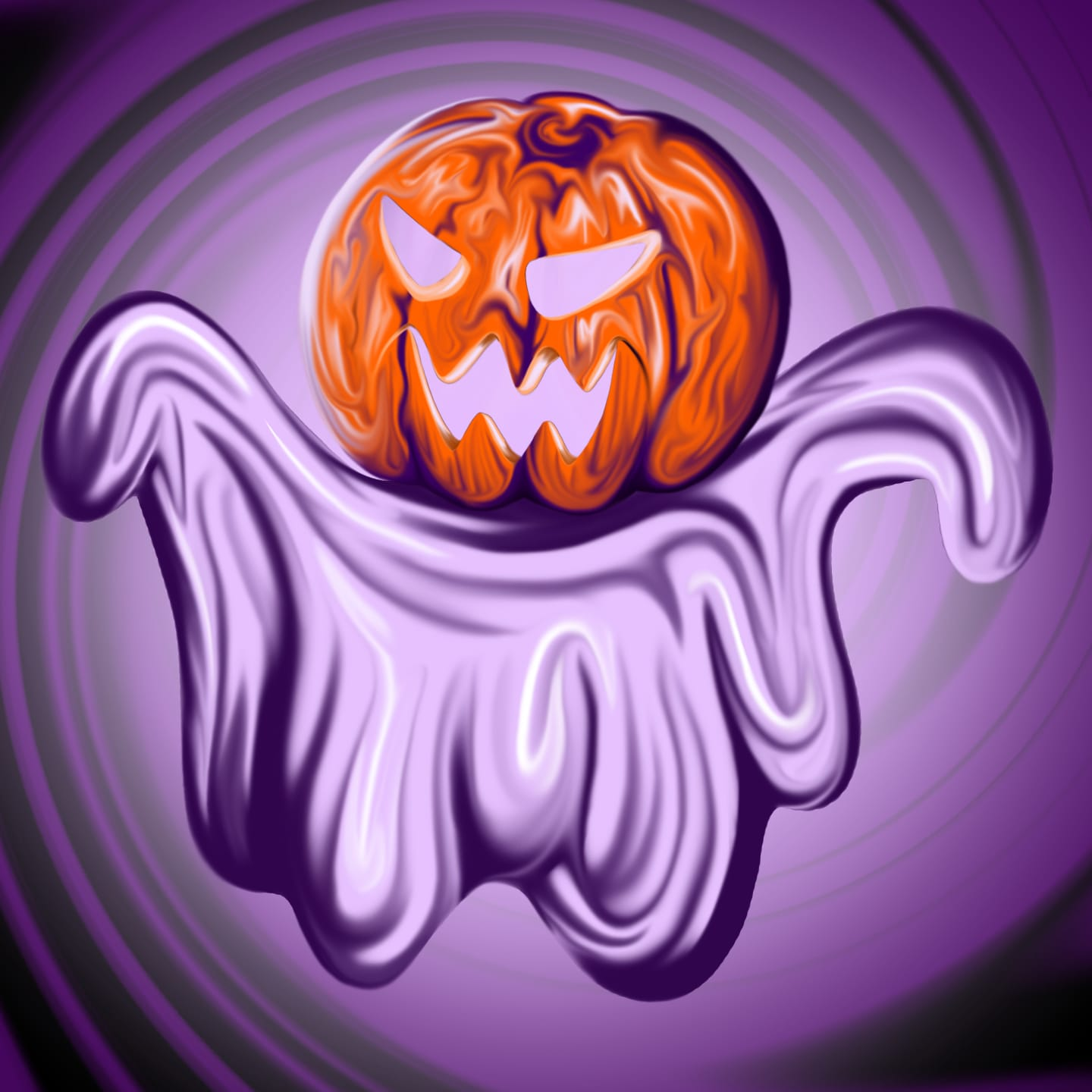 halloween illustration by reb for use by 360 magazine