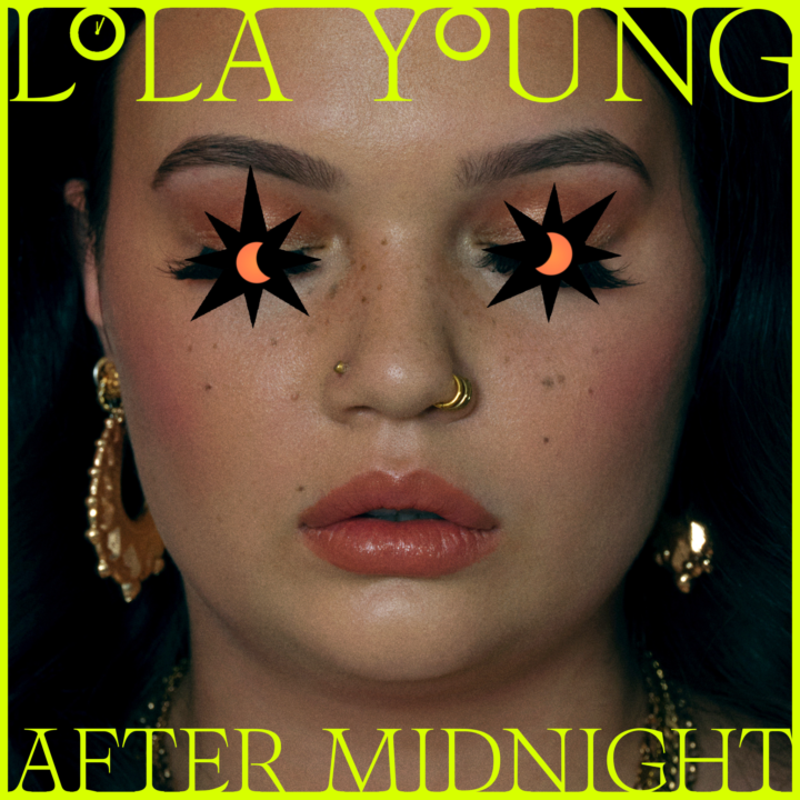 Lola Young after midnight cover, from MacKenzie Reynolds, Capitol Records, for use by 360 Magazine