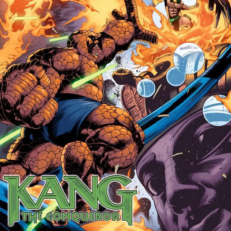 Kang the Conquerer via Carlos Magno for Marvel Entertainment for use by360 Magazine