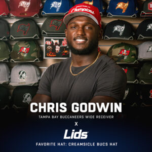 chris godwin lids for use by 360 magazine
