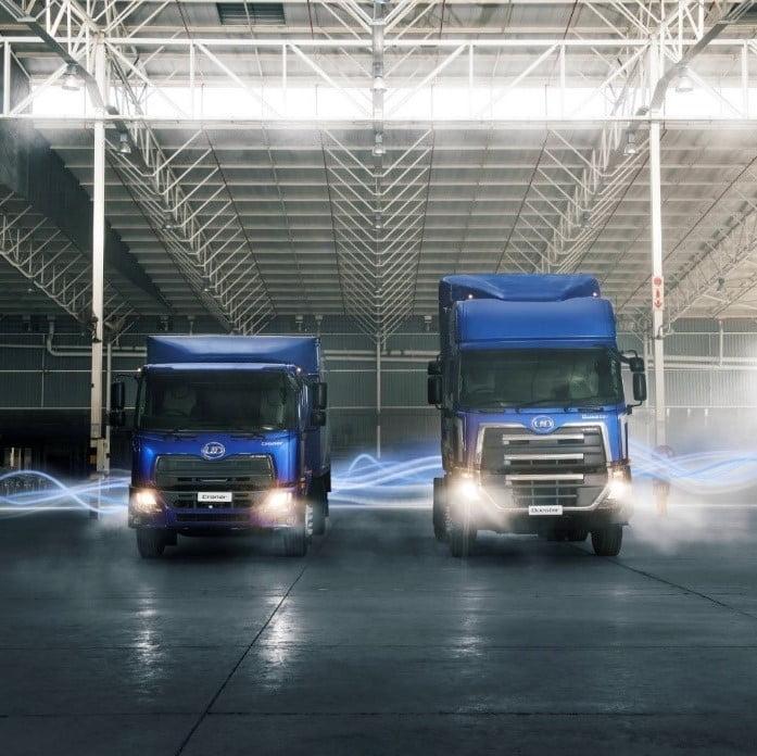 Trucks via Newsroom for use by 360 Magazine