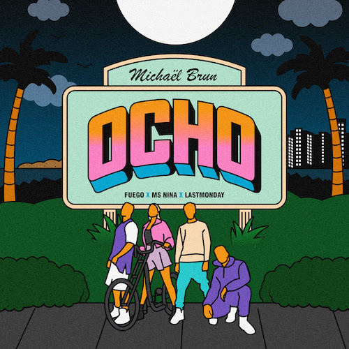 Ocho Illustration from Megan Dembkowski at Infamous PR for use by 360 Magazine