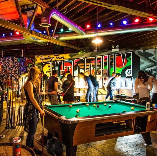Emporium Arcade Bar via The Vox Agency for use by 360 Magazine