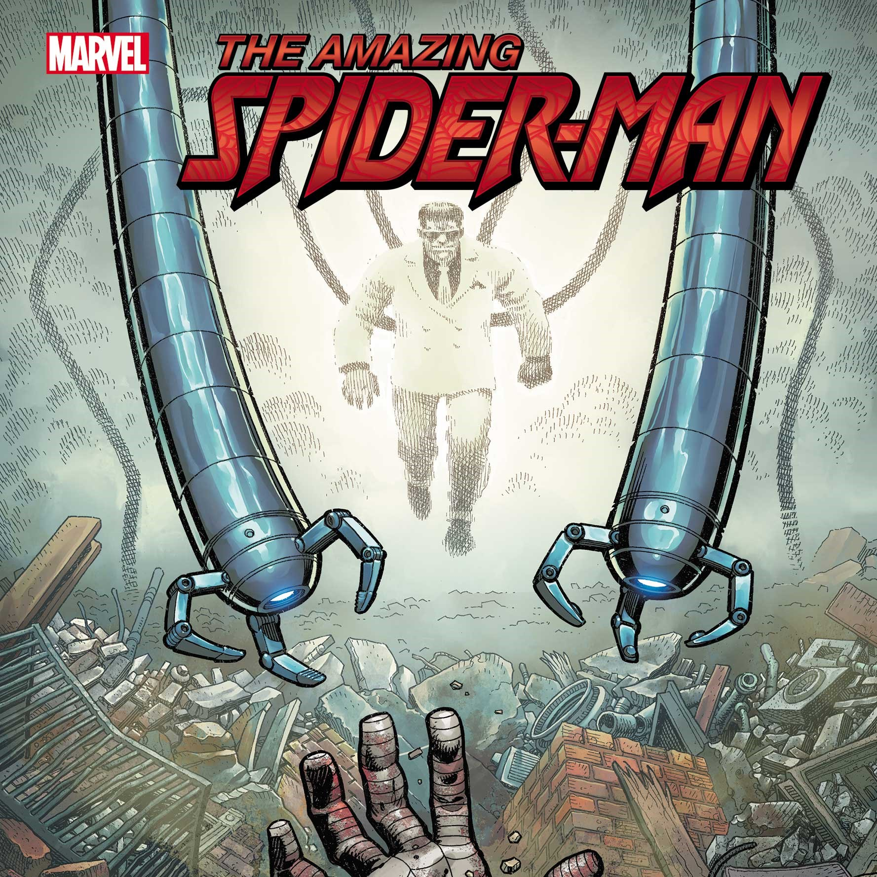 Amazing Spider-Man 85 Cover via Arthur Adams for Marvel Entertainment for use by 360 Magazine