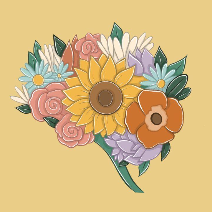 Flower created by Allison Christensen from 360 Magazine use by 360 Magazine