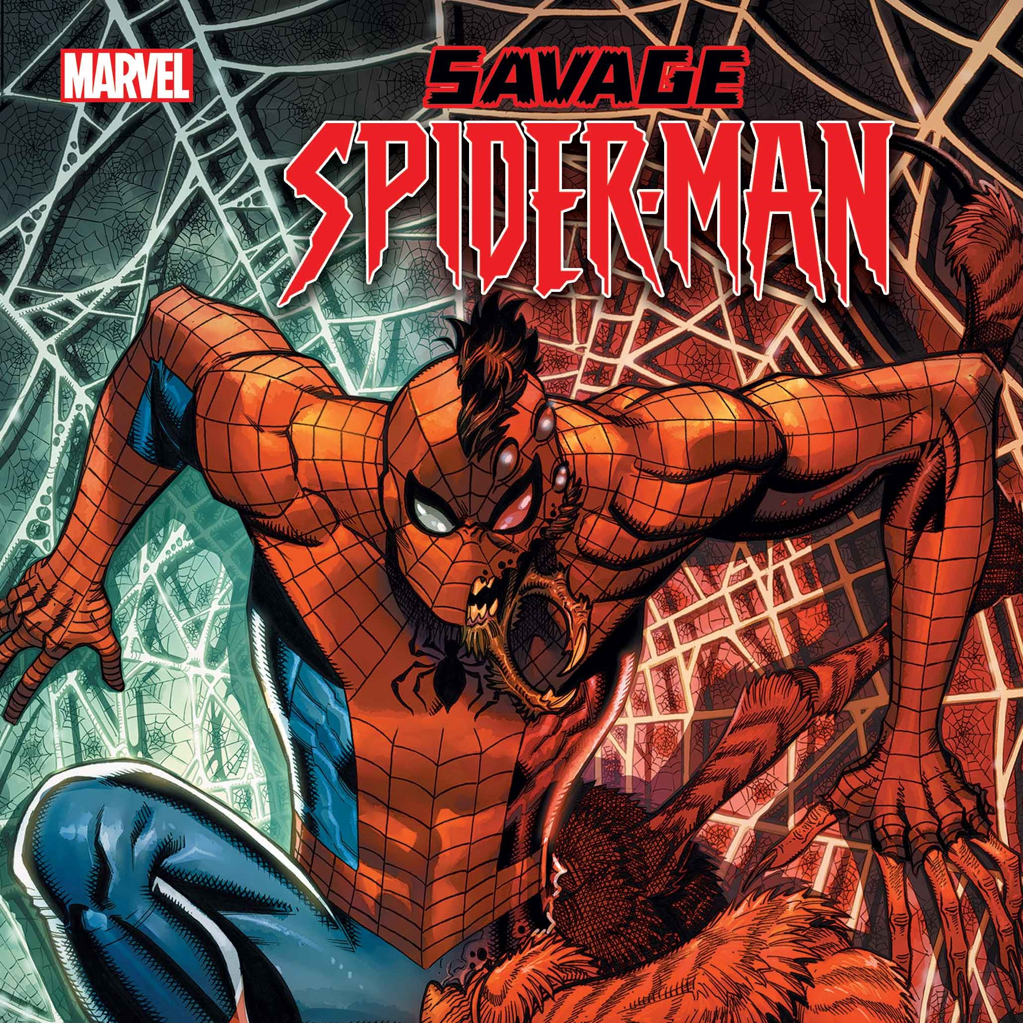 Savage Spider-Man via Nick Bradshaw for Marvel Entertainment for use by 360 Magazine
