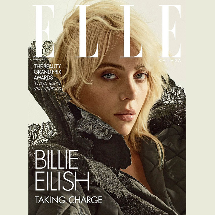billie eilish for elle canada for use by 360 magazine