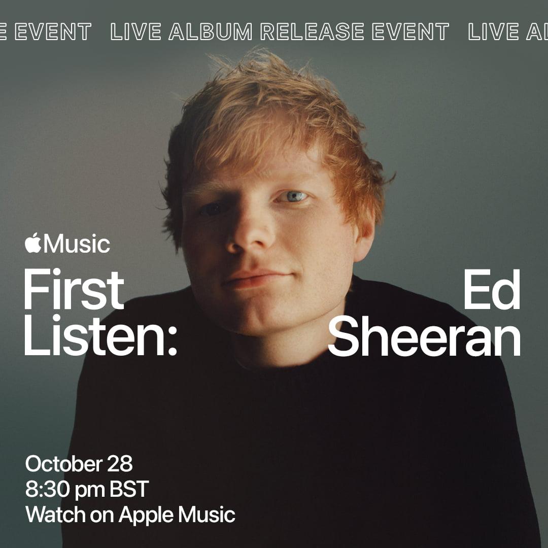 Ed Sheeran First Listen via BB Gun Media for use by 360 Magazine