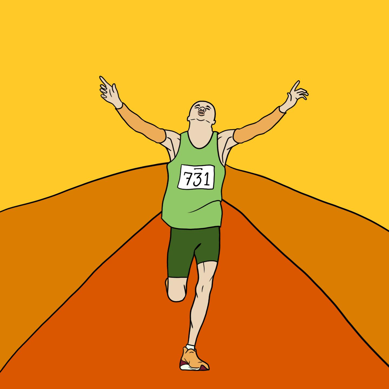 Marathon by Reb Czukoski for use by 360 Magazine