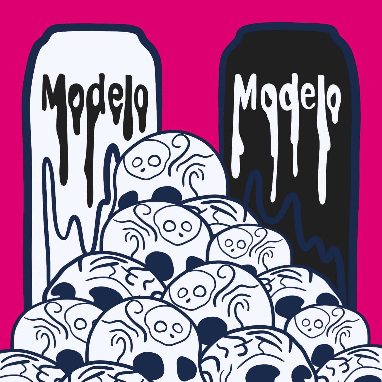 Modelo Illustration by Reb Czukoski for use by 360 Magazine