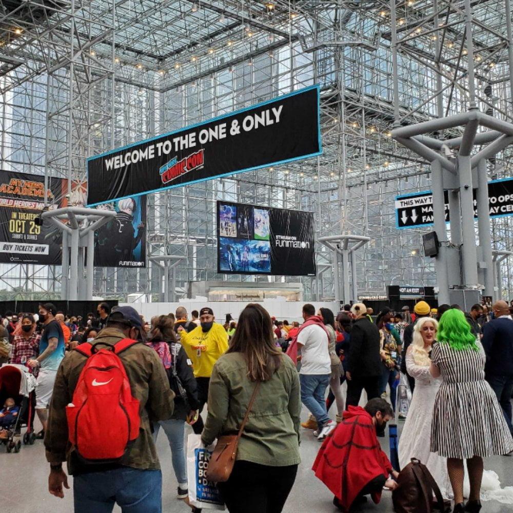 360 MAGAZINE covers NYCC